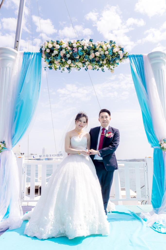 藍色海洋奇緣/Tina主持/玄饌海鮮宴會館/南部婚禮主持紀錄